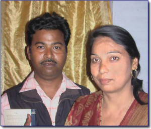 Pastor Anok and Sunita Masih Place of Ministry ~ Shajanpur , UttraPradesh.    North India