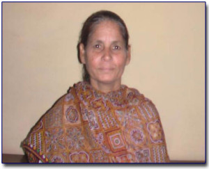 Bible Worker Sis. Rani Place of Work - Vikaspuri, Delhi