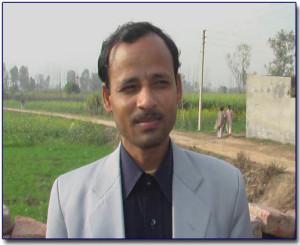 Pastor Satya Pal  Place of Ministry ~ Muzafer Nagar, Uttar Pradesh